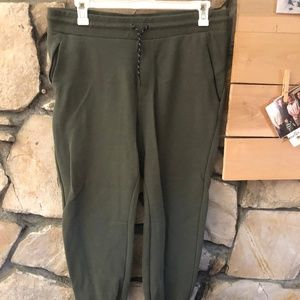 Cotton On Active Range Army Green Joggers